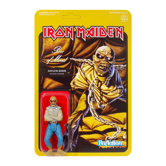 Iron Maiden ReAction Figure - Piece of Mind (Album Art)