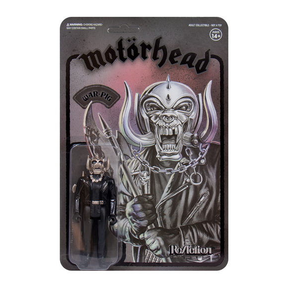 Motorhead Warpig ReAction Figure Black Series