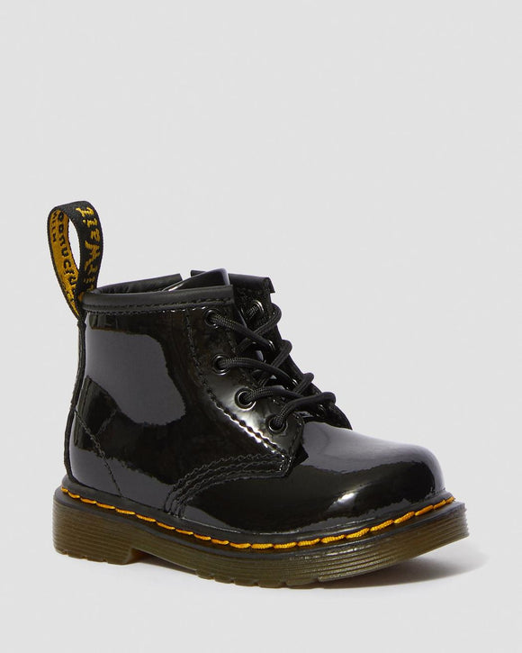 1460 I Black Patent Lamper Baby Boots