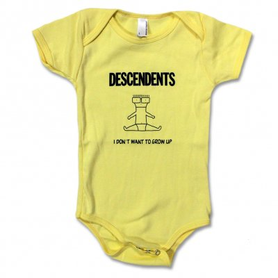 Descendents I Don't Want to Grow Up Onesie