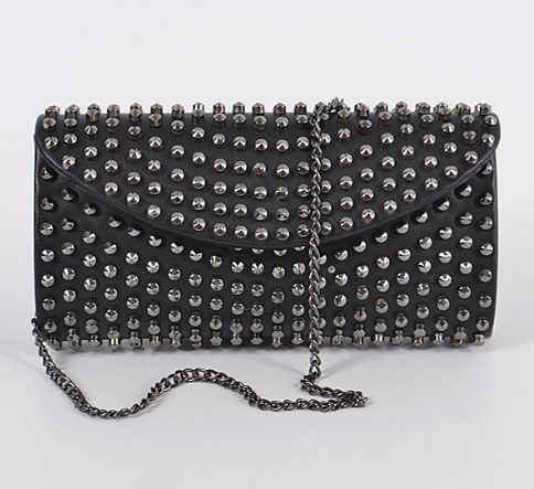 Monotone Studded Clutch