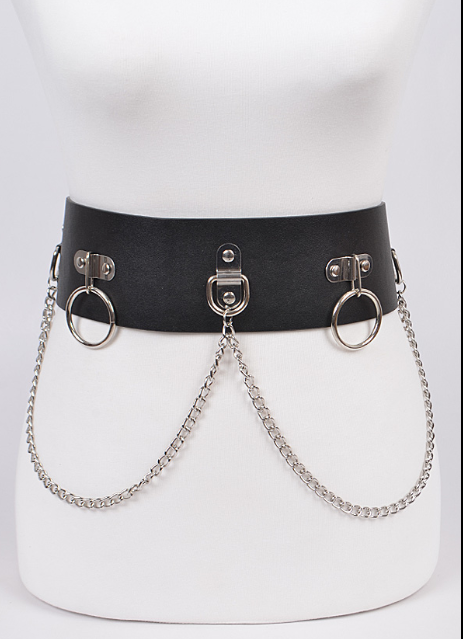 Bondage Ball High Waisted Belt