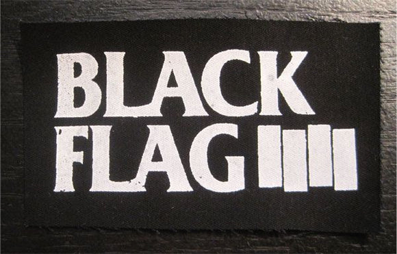 Black Flag 'Bars' Patch - DeadRockers