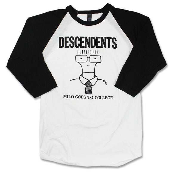 Descendents Milo Goes To College Raglan Shirt