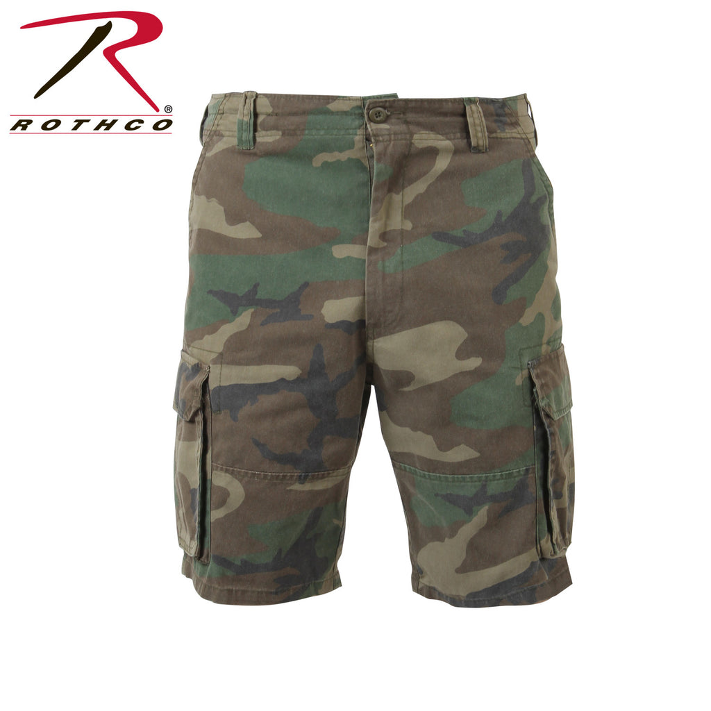 Camo Cargo Shorts - DeadRockers