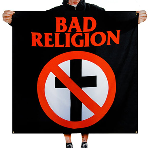 Bad Religion Cross Buster Fabric Poster Flag