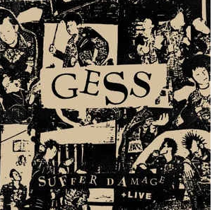 Gess ‎- Suffer Damage + Live LP