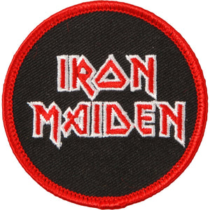 Iron Maiden Stacked Logo Patch - DeadRockers