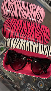 Zebra Sunglasses Hard Case