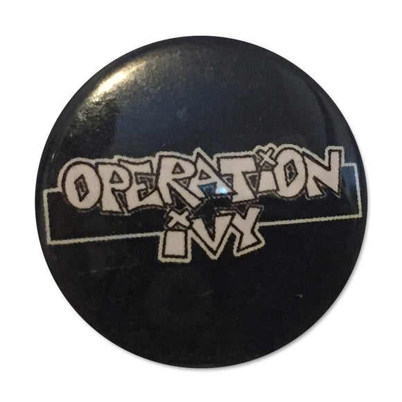 Operation Ivy Logo Button Pin