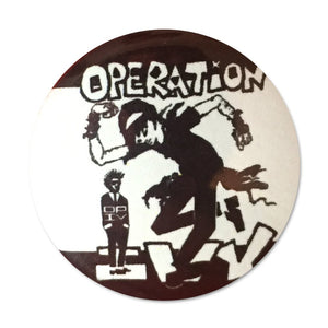 Operation Ivy Skankin Button Pin