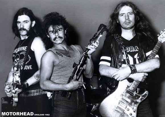 Motorhead Band Photo Poster
