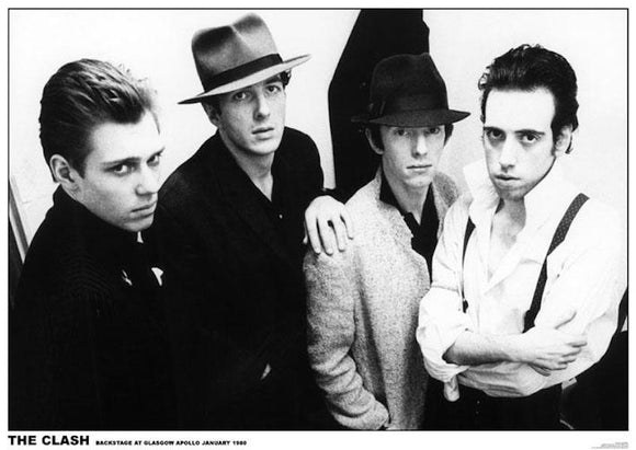 The Clash Band Photo Poster