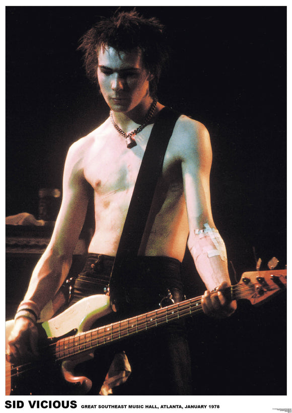 Sid Vicious Poster - DeadRockers