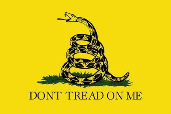 Don't Tread on Me Poster - DeadRockers