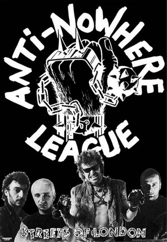 Anti-Nowhere League Poster - DeadRockers