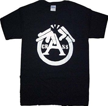 Crass Gun Logo Shirt - DeadRockers