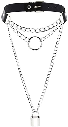 Chain Me To You Choker Chain Necklace