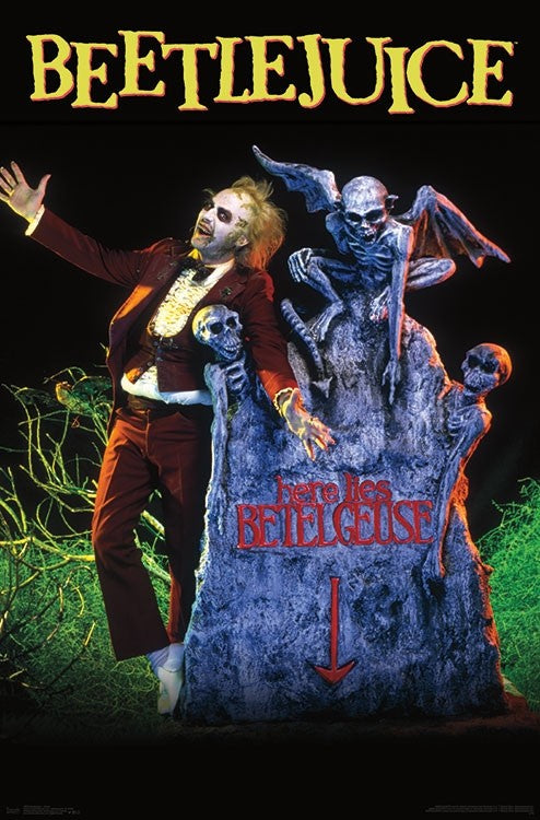 Beetlejuice Grave Movie Poster