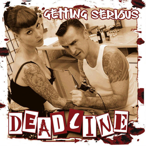 Deadline - Getting Serious CD - DeadRockers