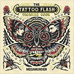 Tattoo Flash Coloring Book - DeadRockers