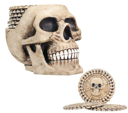 Skull Coaster Set - DeadRockers