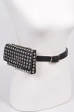 Turbo Lover #2 Studded Convertible Waist/Shoulder Bag