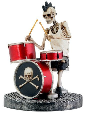 Skeleton Drummer - DeadRockers