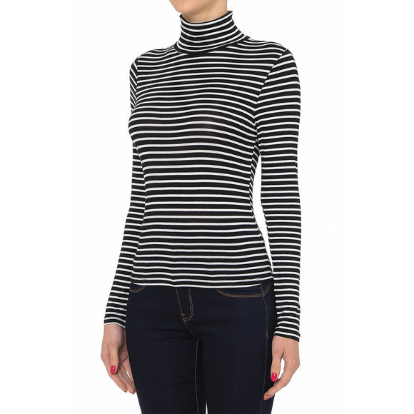 Gabba Gabba Hey Striped Turtle Neck Top