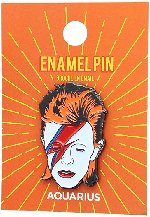 David Bowie Stardust Lapel Pin