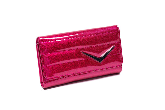 Hot Pink Sparkle Supernova Wallet