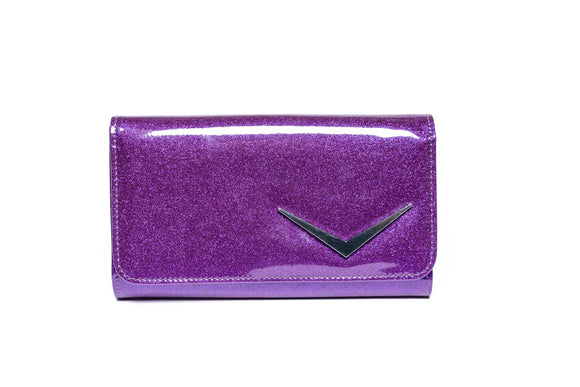 Getaway Wallet Poisonous Purple Sparkle