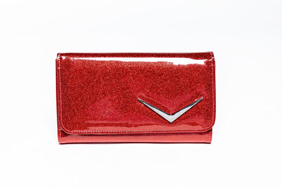Getaway Wallet Red Rum Sparkle