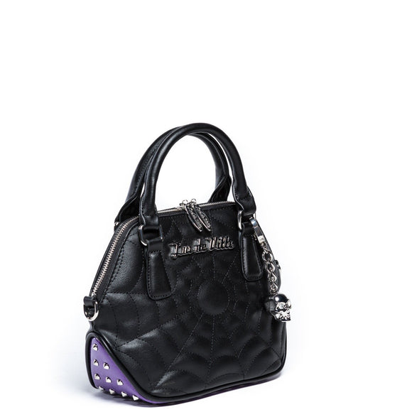 Mini Glampira Tote Poisonous Purple Sparkle