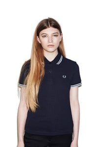 Fred Perry Polo Navy/Ice/White