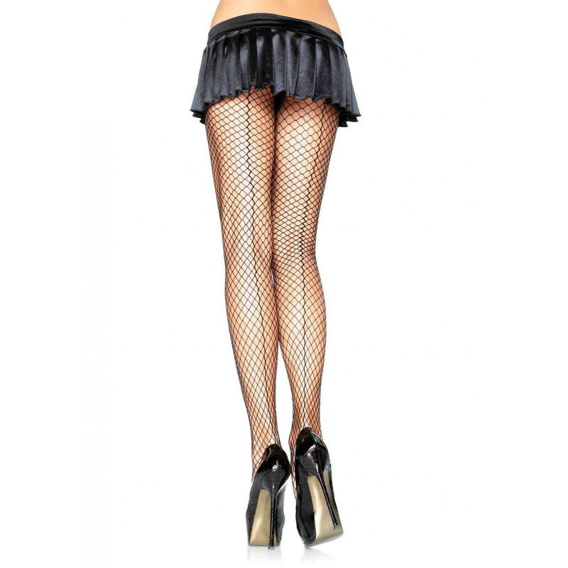 Backseam Net Black Pantyhose - DeadRockers