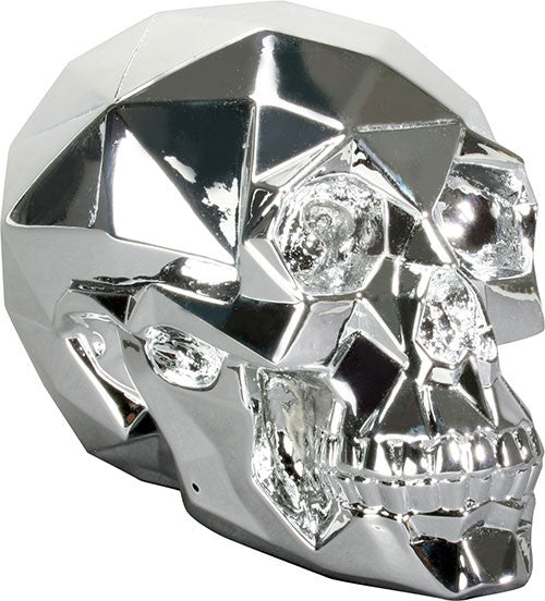 Chrome Polygon Skull - DeadRockers
