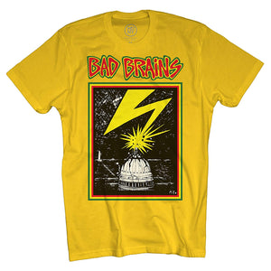 Bad Brains Yellow Band Shirt