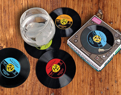 45 Record Coaster Set