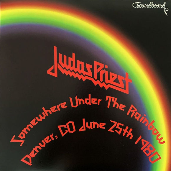 Judas Priest - Somewhere Under The Rainbow LP