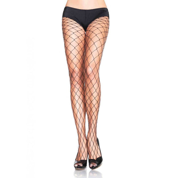 Fence Net Black Pantyhose - DeadRockers