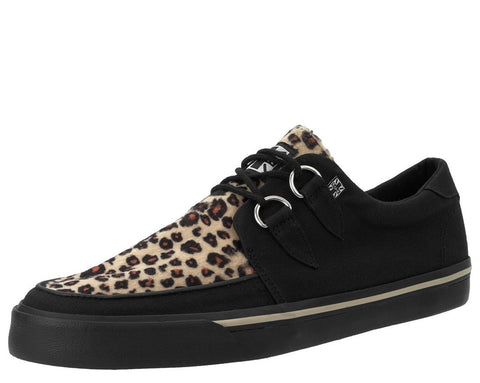 Black & Leopard VLK Creeper Sneaker