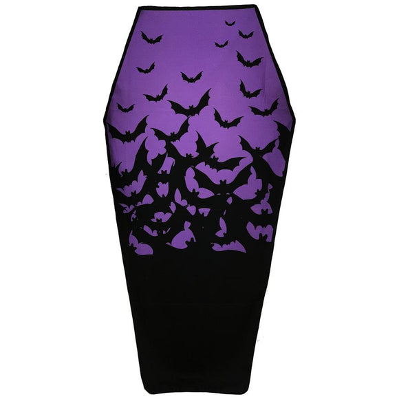 Coffin Shaped Bats Beach Towel