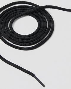 "Black 55"" Round Laces (8-10 Eye)"