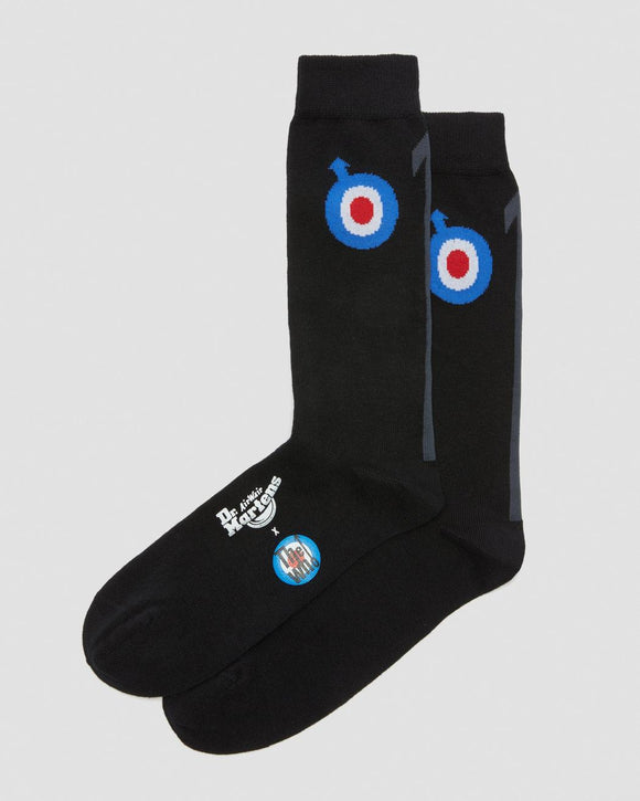 The Who Logo Doc Marten Socks