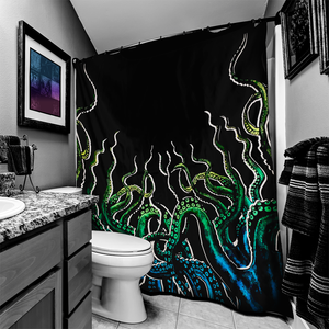 Octopus Tentacles Shower Curtain