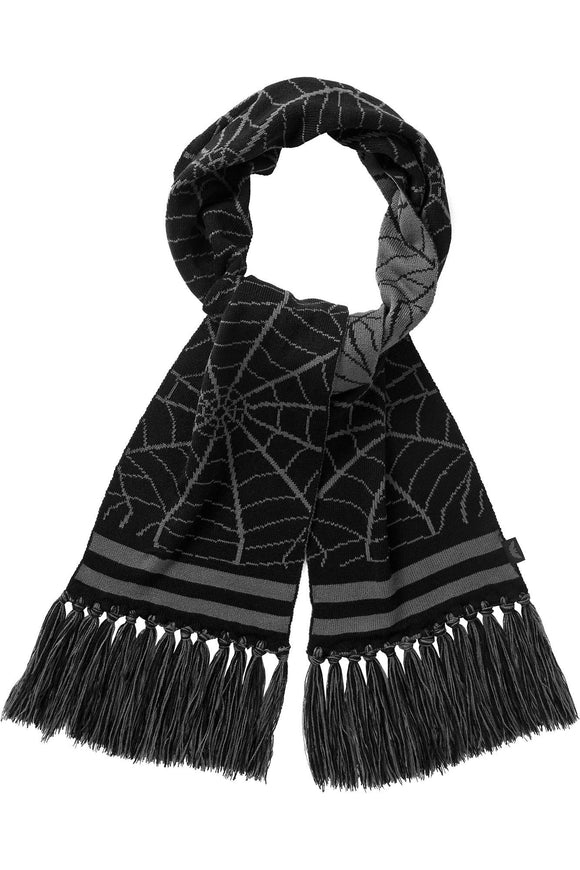 Spider Web All Caught Up Scarf