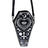 All Seeing Eye Coffin Shaped Bag