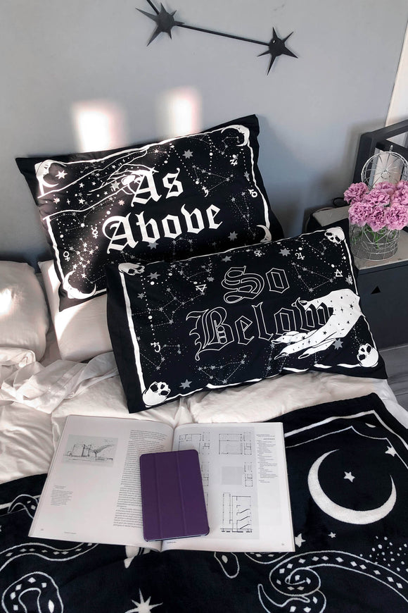 As Above So Below Pillow Cases