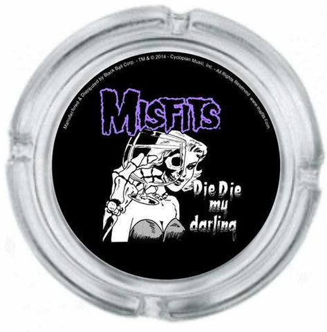 Misfits Die Die My Darling Ashtray - DeadRockers